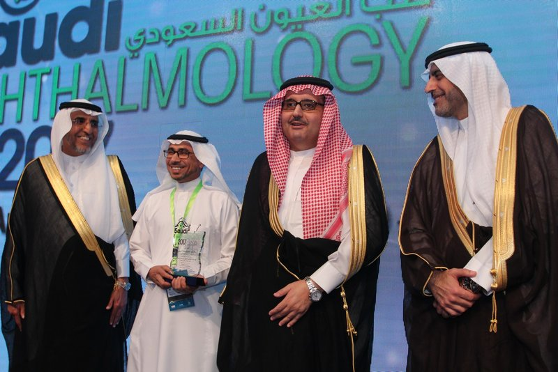 Prince Abdulaziz bin Ahmad Opens Saudi Ophthalmology Meeting 2107