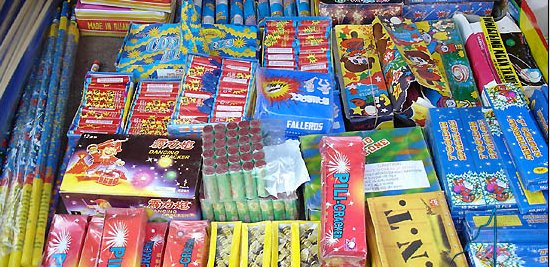 Fireworks: A Danger threatening the